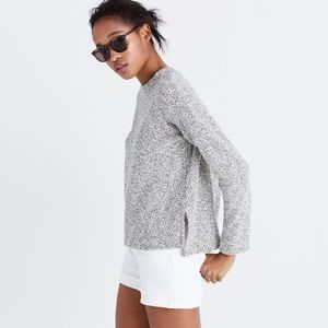 Madewell Textured Funnel Neck Sweater
